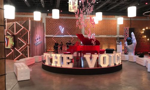 "Scenografia ""The Voice of Poland"""